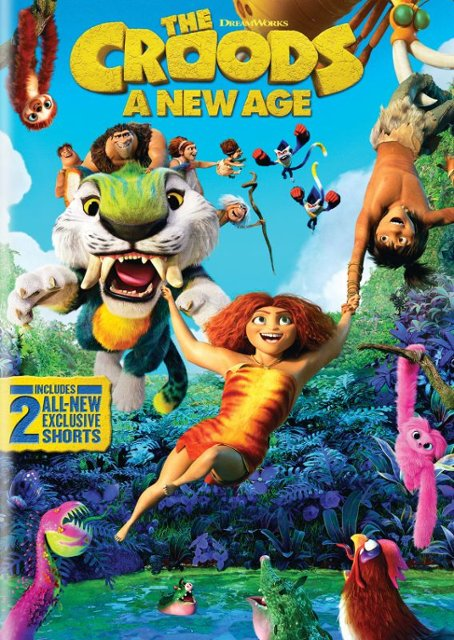 Book Cover: The Croods, a new age