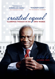 Book Cover: Created equal : Clarence Thomas in his own words