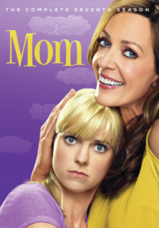 Book Cover: Mom. The complete seventh season.