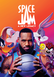 Book Cover: Space jam, a new legacy