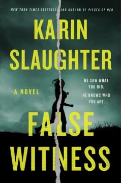 Book Cover: False Witness: A Novel