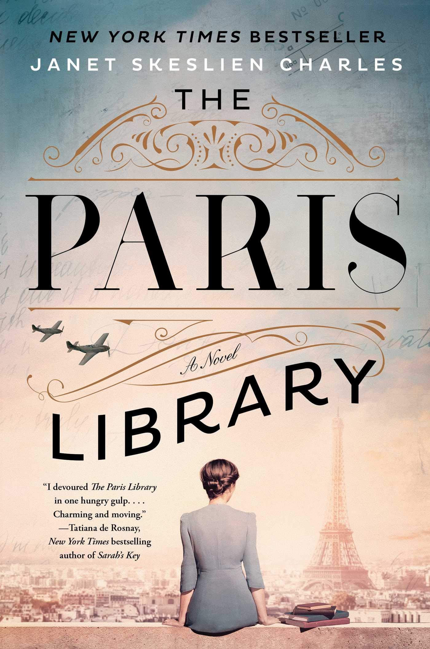 Book Cover: The Paris Library
