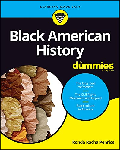 Book Cover: Black American History For Dummies