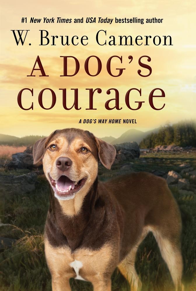 Book Cover: A Dog's Courage: A Dog's Way Home Novel