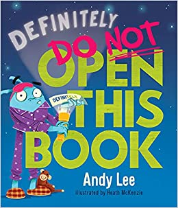 Book Cover: Definitely Do Not Open This Book