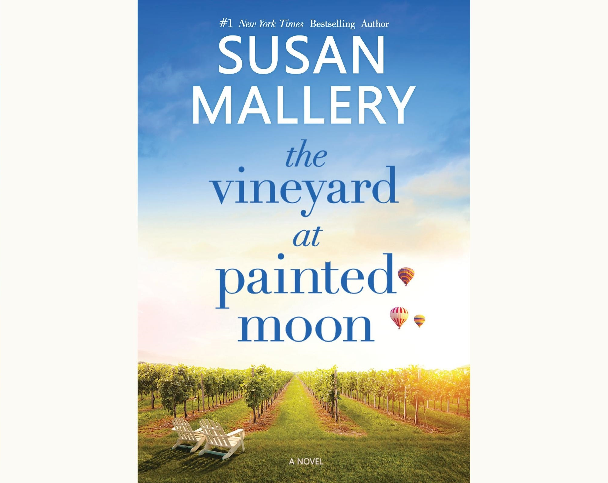 Book Cover: The Vineyard at Painted Moon