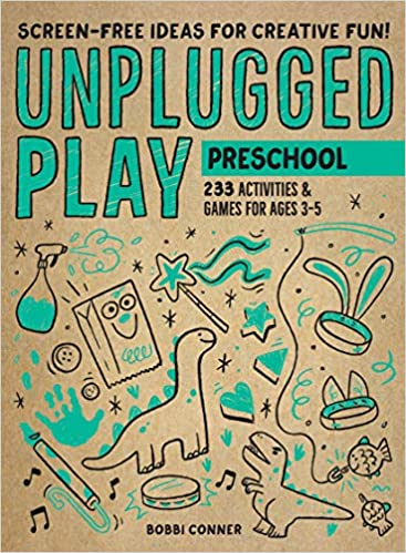 Book Cover: Unplugged Play: Preschool: 235 Games & Activities for Ages 3-5