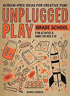 Book Cover: Unplugged Play: Grade School: 235 Games & Activites for Ages 6-10