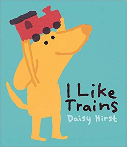 Book Cover: I Like Trains