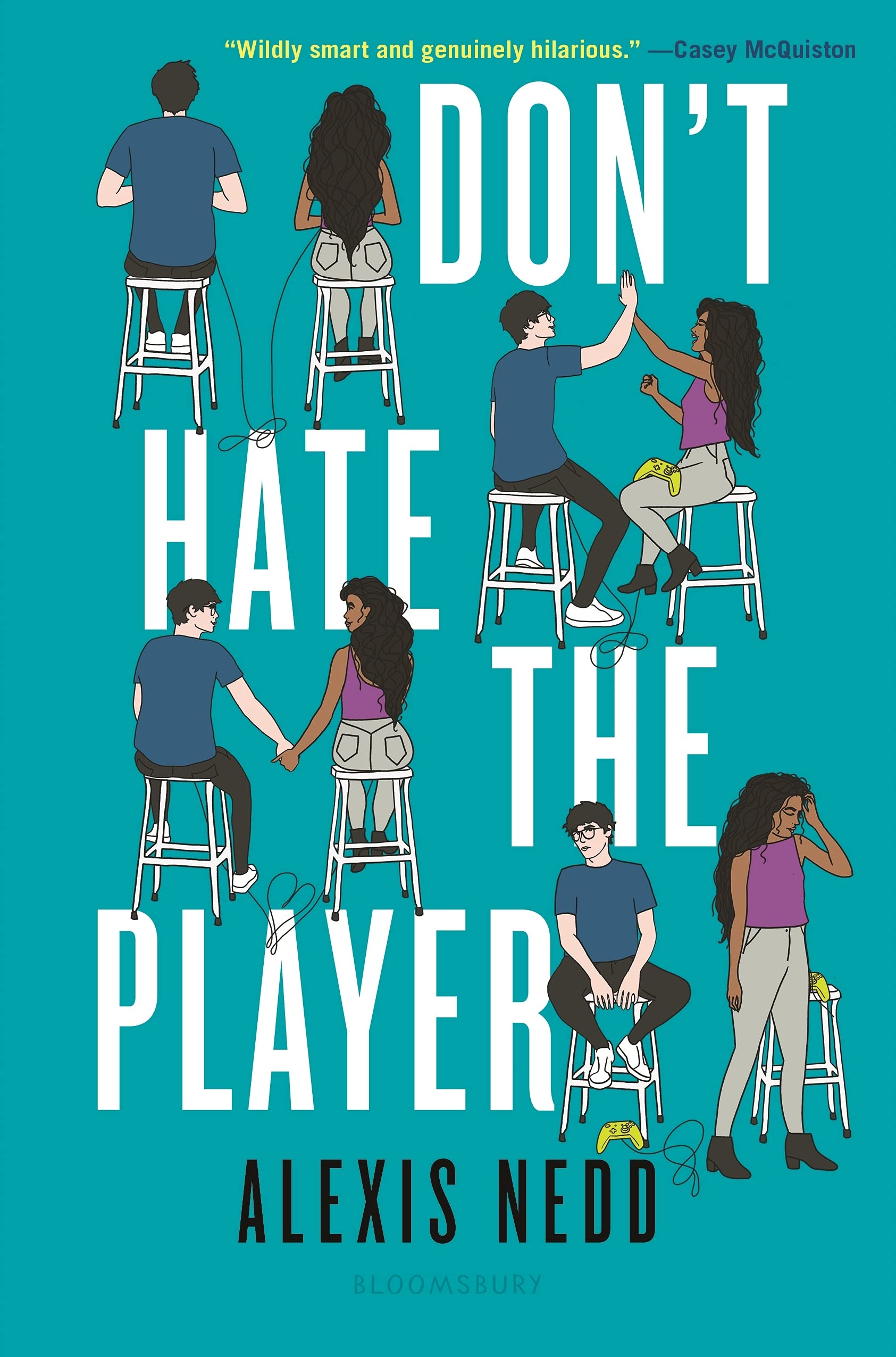 Book Cover: Don't Hate the Player