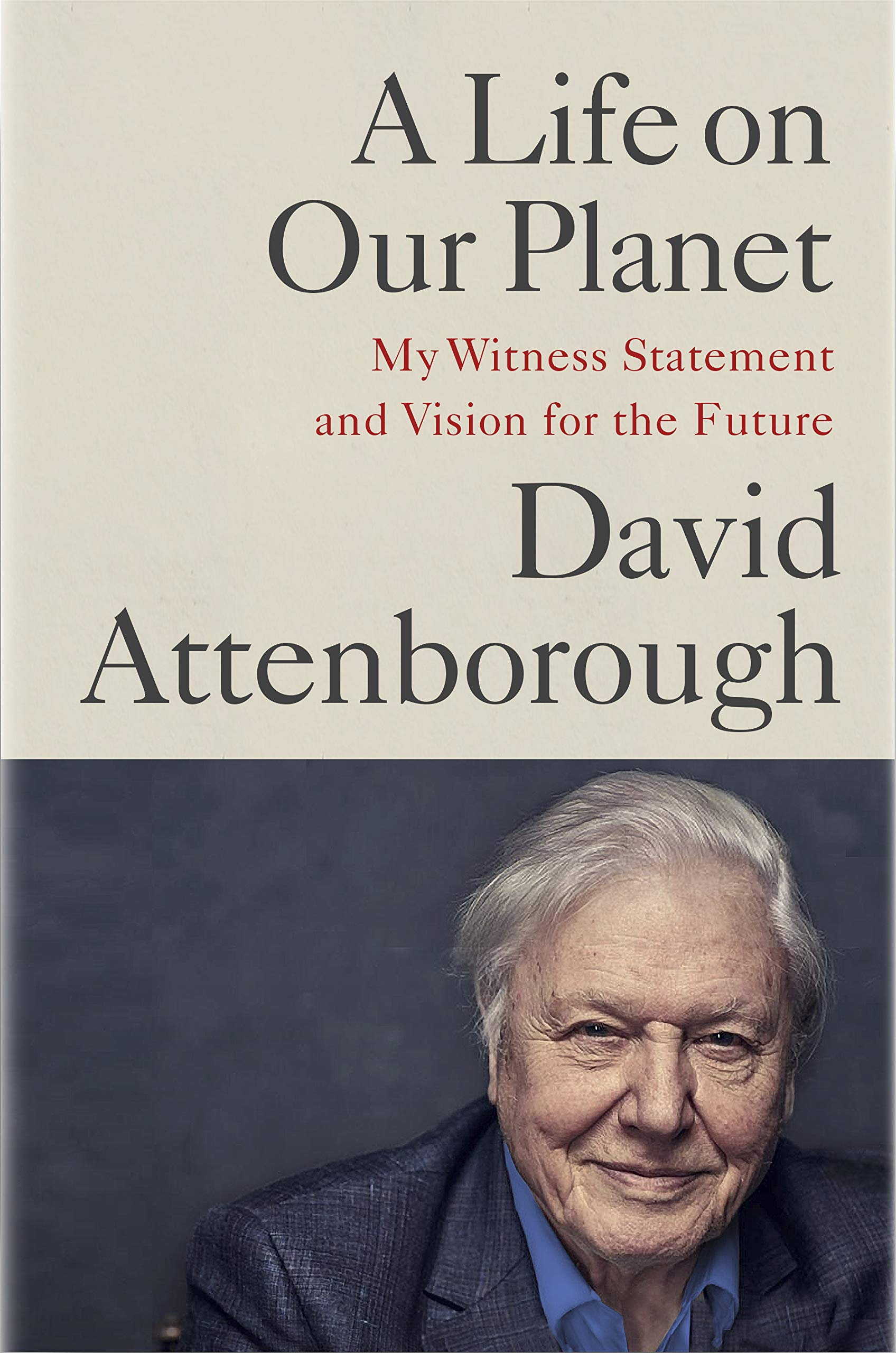 Book Cover: A Life on Our Planet