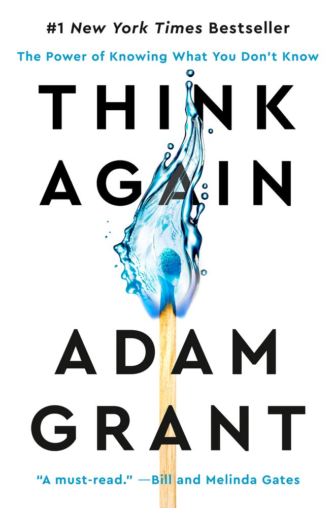 Book Cover: Think Again