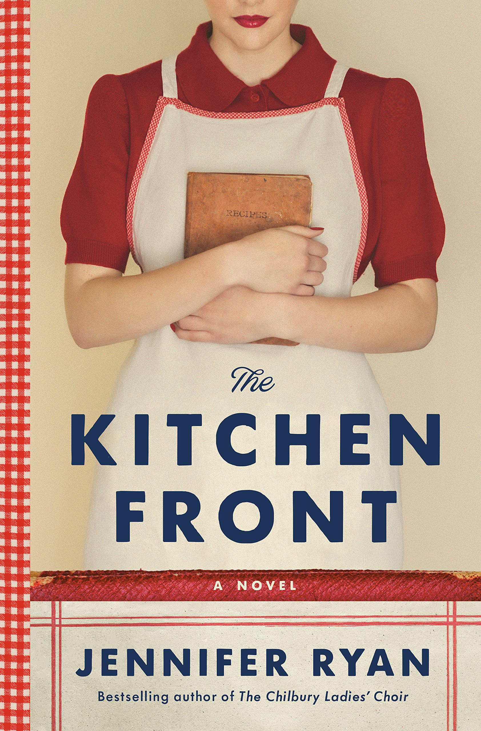 Book Cover: The Kitchen Front