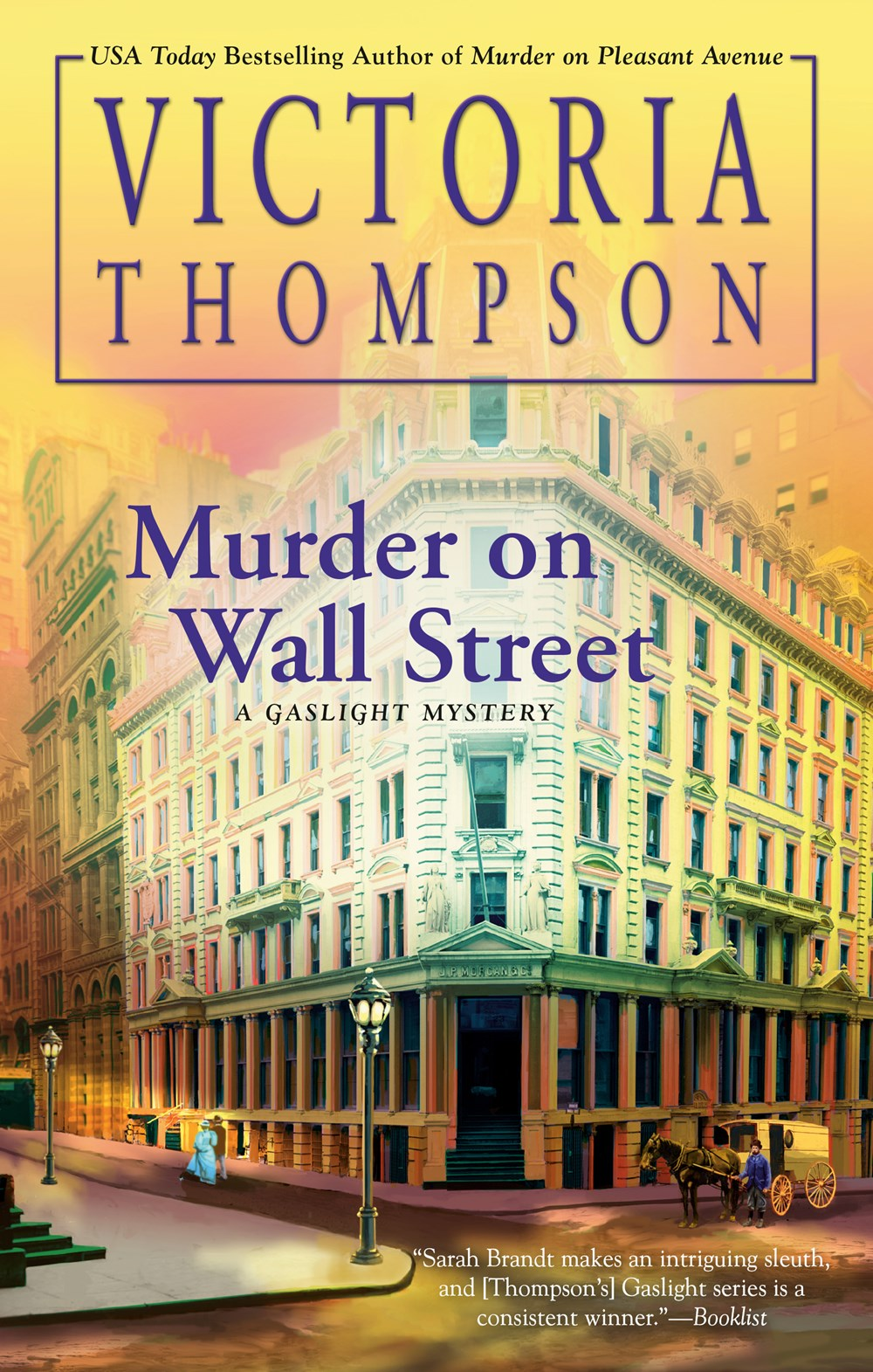 Book Cover: Murder on Wall Street